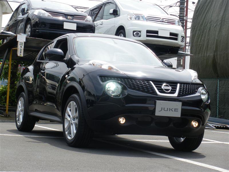 Nissan Juke before Photoshop