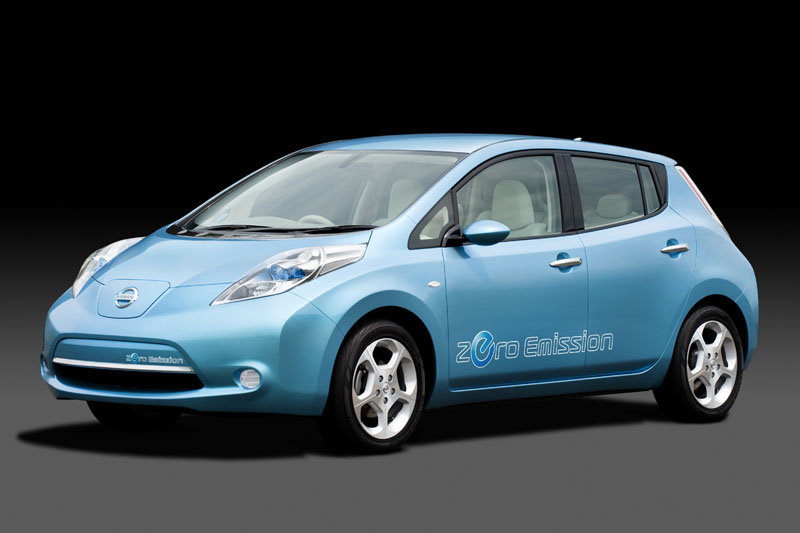 Nissan stops taking reservations for Leaf electric car